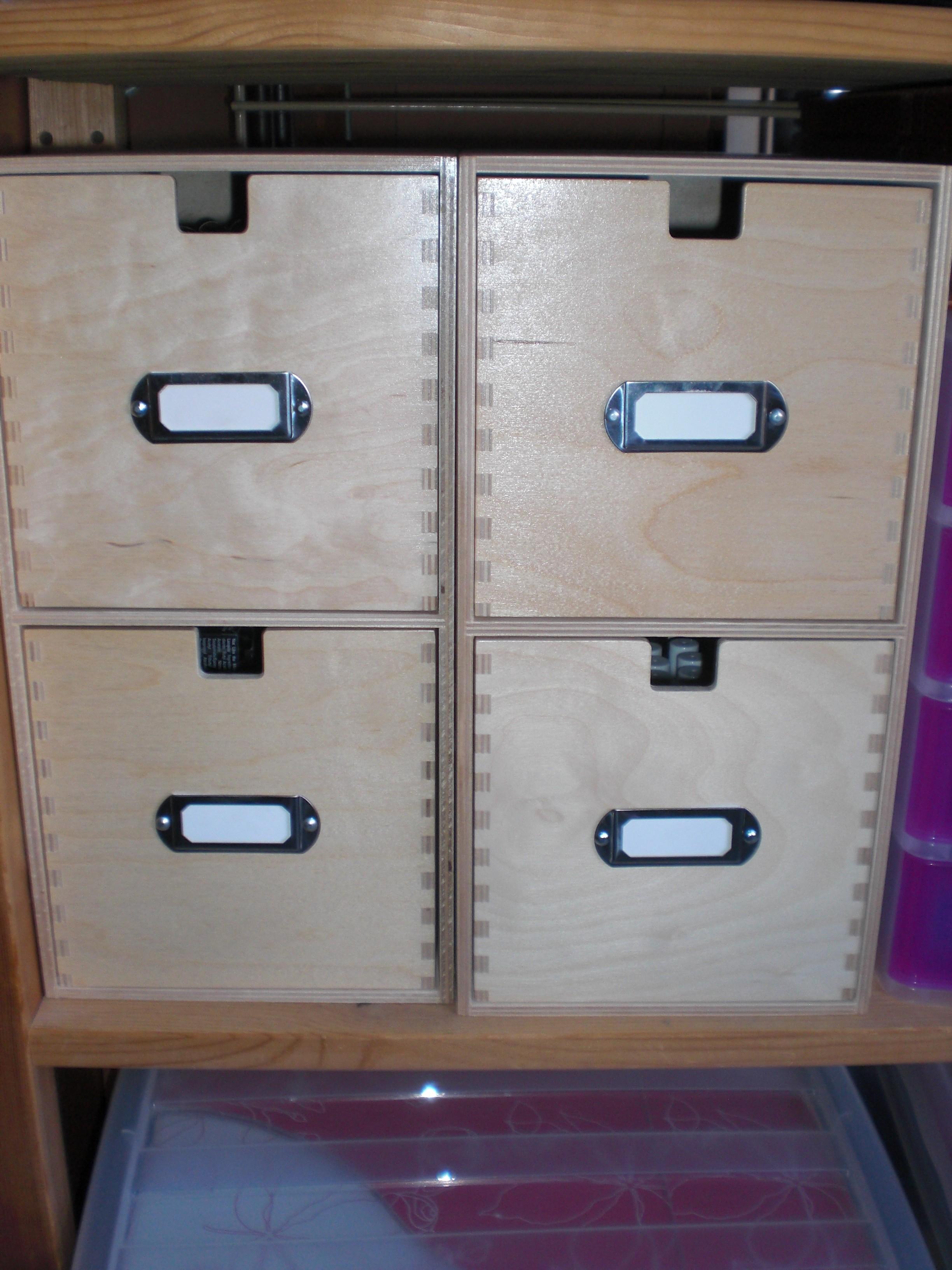 Ikea Mackis CD Storage Unit (x2)