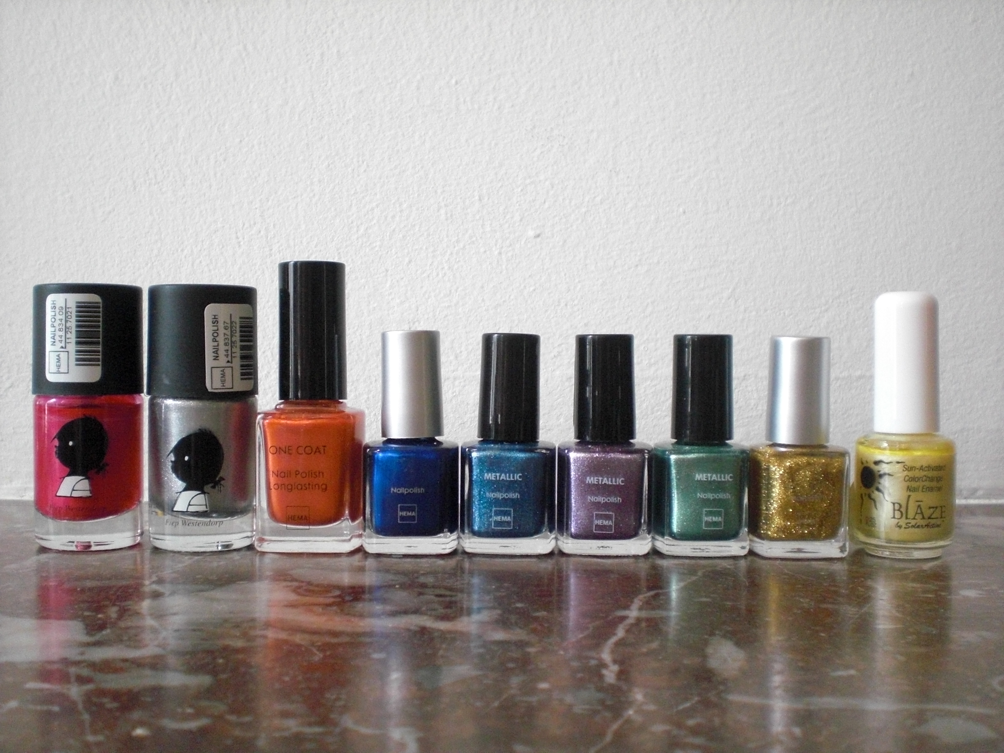 Nail Polish Collection Part 4: Diamond Cosmetics, E.L.F. & Random ...