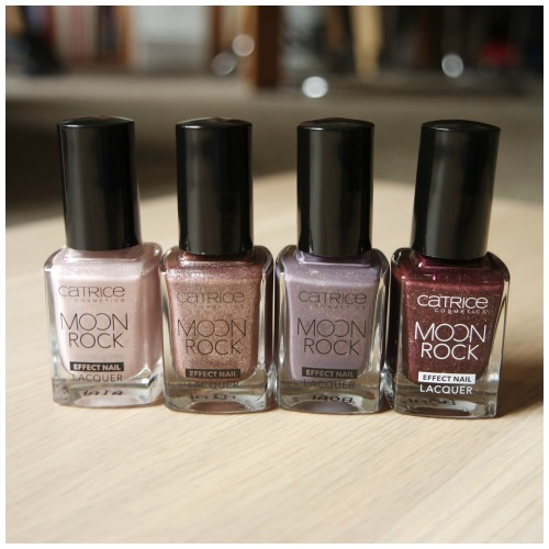 catricemoonrockpolish1 Catrice Moon Rock Effect Nail Lacquer 01 Silky Way, 04 Pretty Like Universe, 06 Magical Bluelight, 05 Moonlight Berriage