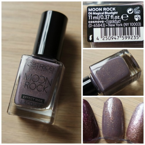 Catrice Moon Rock Effect Nail Lacquer 06 Magical Bluelight