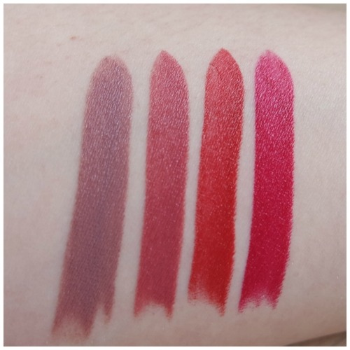 bite amuse bouche lipstick review swatch thistle maple beetroot rhubarb