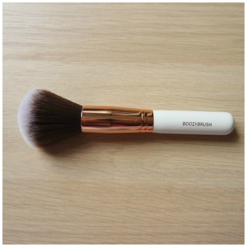 boozyshop boozy cosmetics brush make up set review travel rose gold sculpt blend