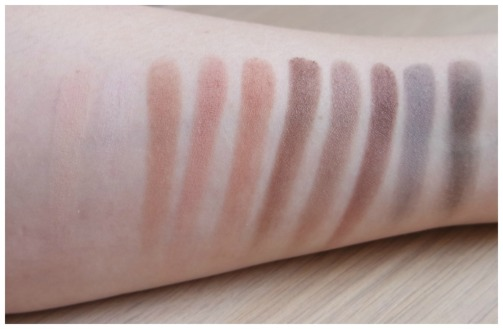 elf eyeshadow palette review swatch mad for matte prism sunset