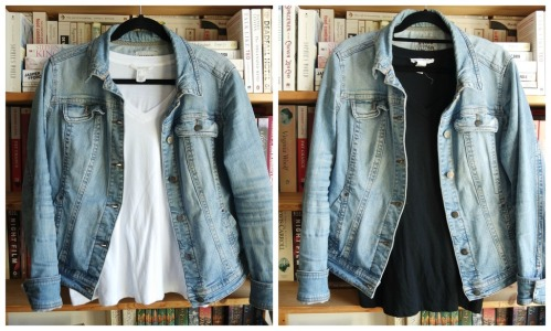 styling a denim jacket mango