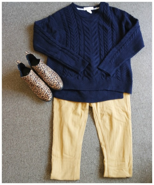 styling chunky knit sweaters