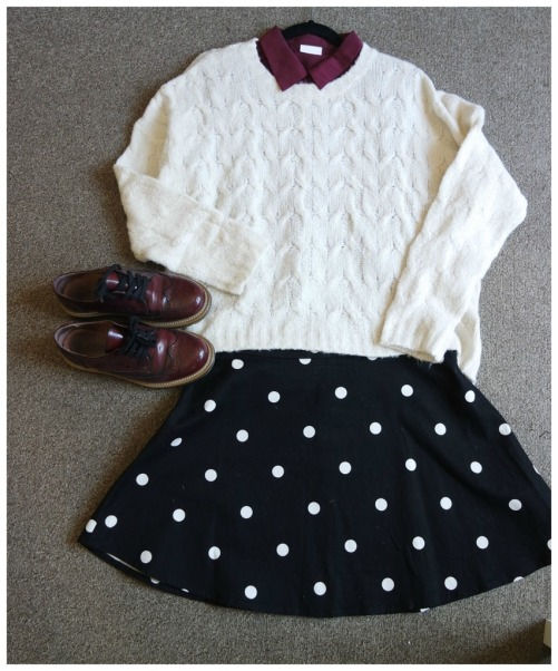 styling chunky knit sweaters