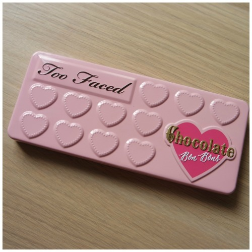 too faced chocolate bon bons review swatch eyeshadow palette high end sephora cool toned