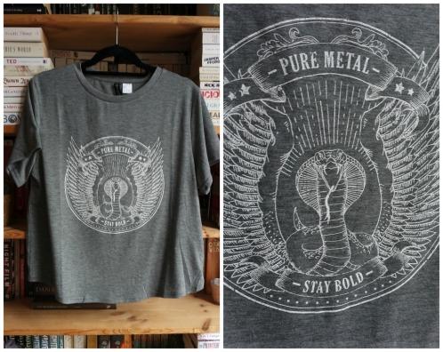 H&M Grey graphic t-shirt haul
