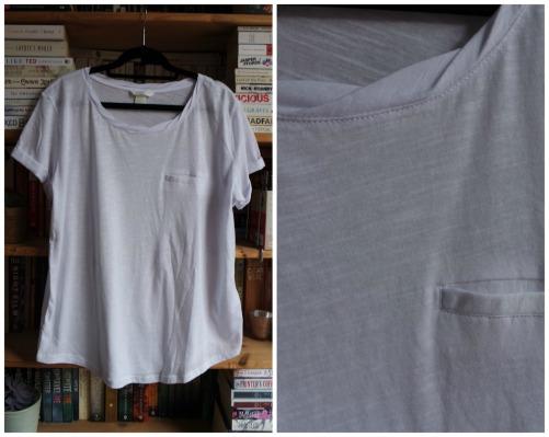 H&M white t-shirt haul