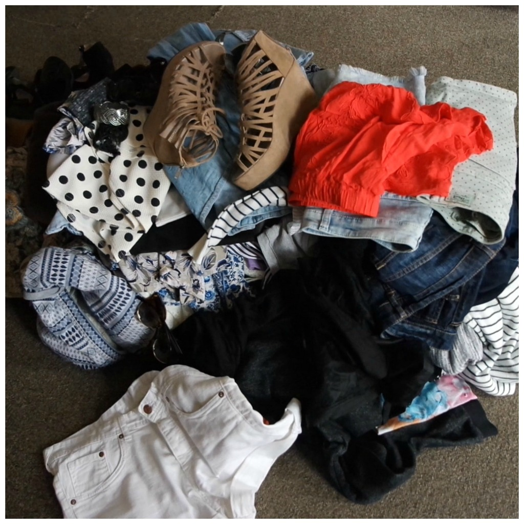 wardrobe declutter fashion purge closet spring cleaning how to