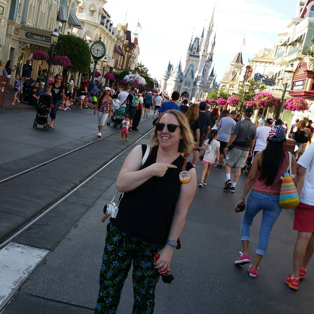 disney orlando magic kingdom happy moments
