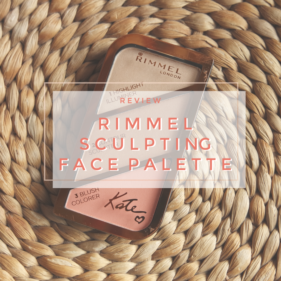Rimmel Kate Sculpting Blush Bronzer contour Highlighter face palette 002 Coral Glow review swatch
