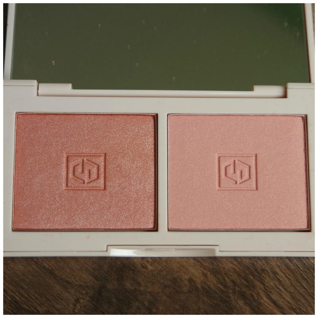 jouer blush duo blush bouquet rose gold rose petal marigold review swatch makeup look
