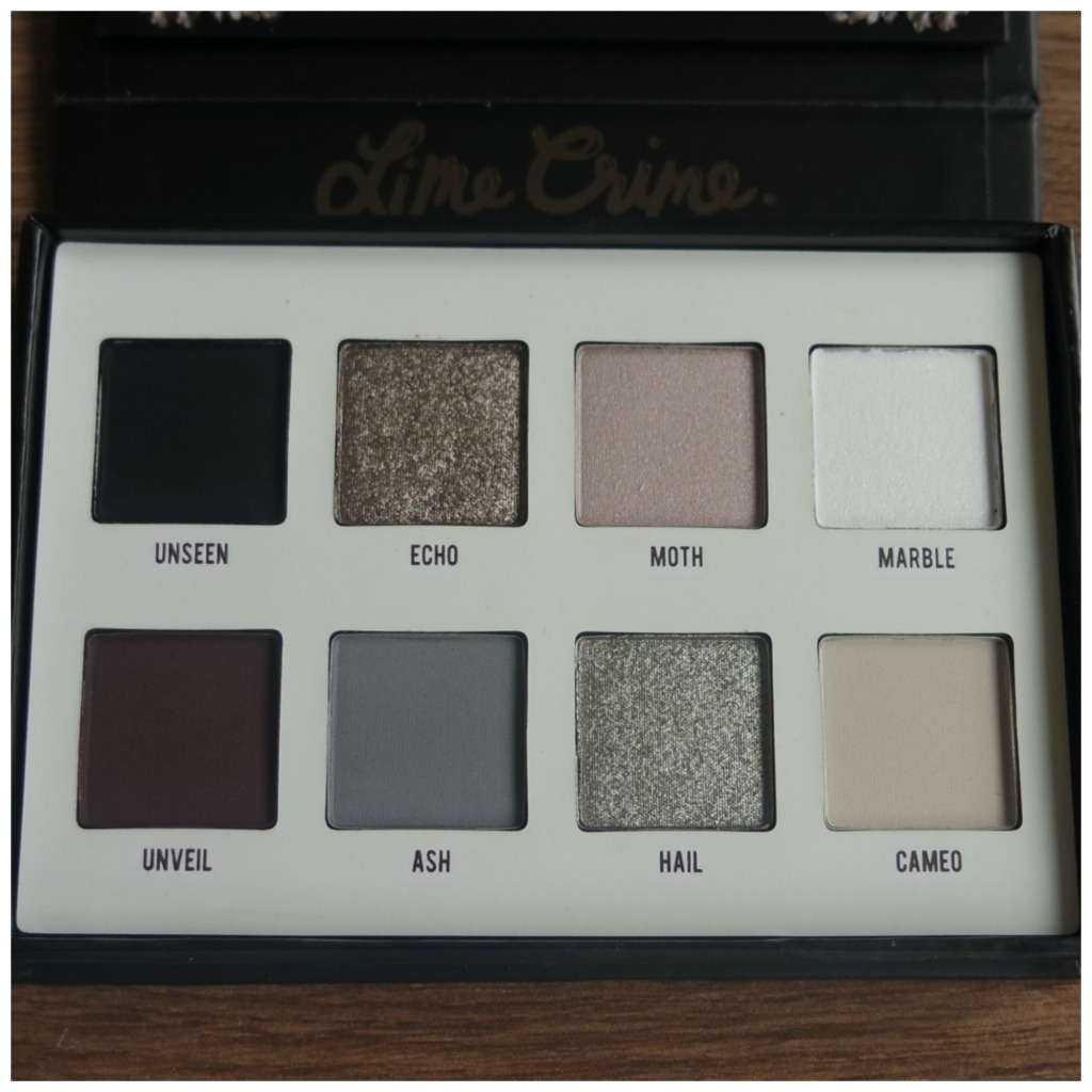 lime crime venus immortalis eyeshadow palette review swatch makeup application 2 looks 1 palette